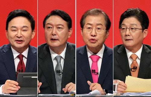 원희룡 띄운 尹, 유승민 감싼 洪… 서로 뭉치는 4强